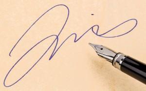 Perizie grafologiche firma falsa su documenti
