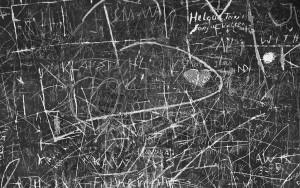 Perizie grafologiche scritte murarie